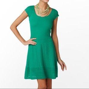Lily Pulitzer Hazel Sweater Dress in Emerald Green